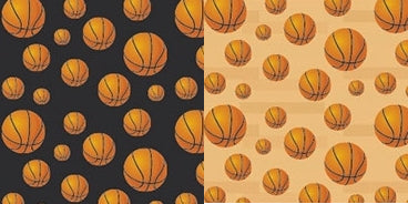 Quick Stitch Embroidery Paper: Sports - Basketball