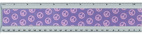 Acrylic Ruler Embroidery Blank