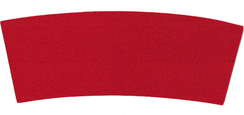 Unsewn Blank Coffee / Red Solo Cup Cooler Wrap - Red