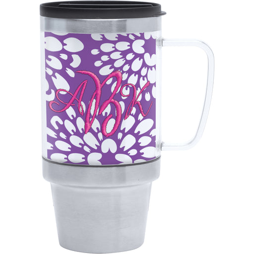 16 oz. Stainless Steel Photo Insert Travel Mug