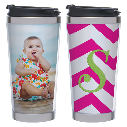 12oz Stainless Steel Tumbler for Embroidery, Crafts & Photos