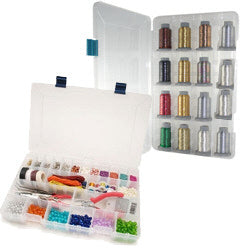 Lock Tight Adjustable Storage Box with Dividers