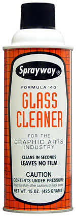 Sprayway SW040 GRAPHIC ARTS GLASS CLEANER