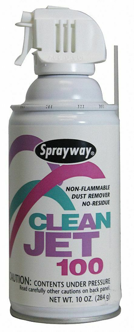 Sprayway 805 Clean Jet 100 Lint & Dust Remover - 10 oz.