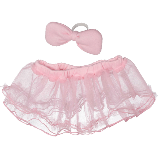 Pink Tutu & Bow Set For EB's & Cubbies