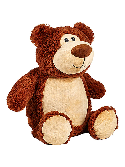 Cubbies Embroidery Blank - Cubbyford Teddy Bear - Brown