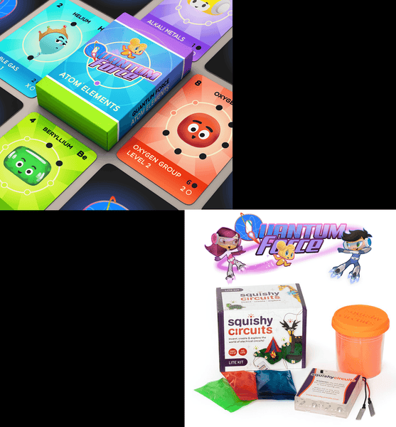Early Bird Bundle: Atom Elements Card Game & Squishy Circuits Kit (Pre-Order)