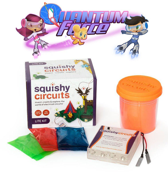 Quantum Force Themed Squishy Circuits Kit (Pre-Order)