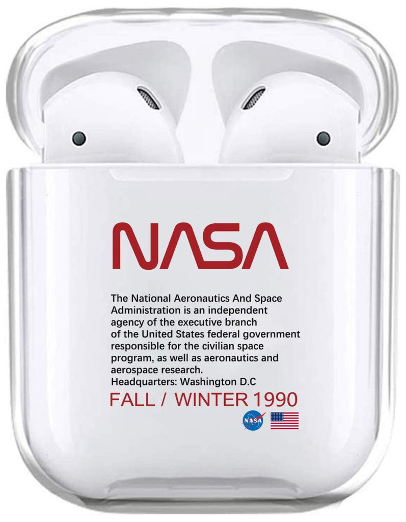 Nasa Case For Airpods 1 2 Premium Hard Plastic Protective Cover