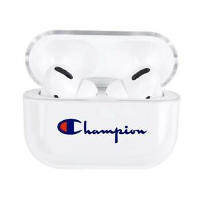 Apple Airpods Pro Champion Clear Case Streetwear Fashion