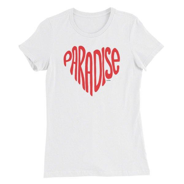 Paradise Love T-shirt, Women's Slim Fit