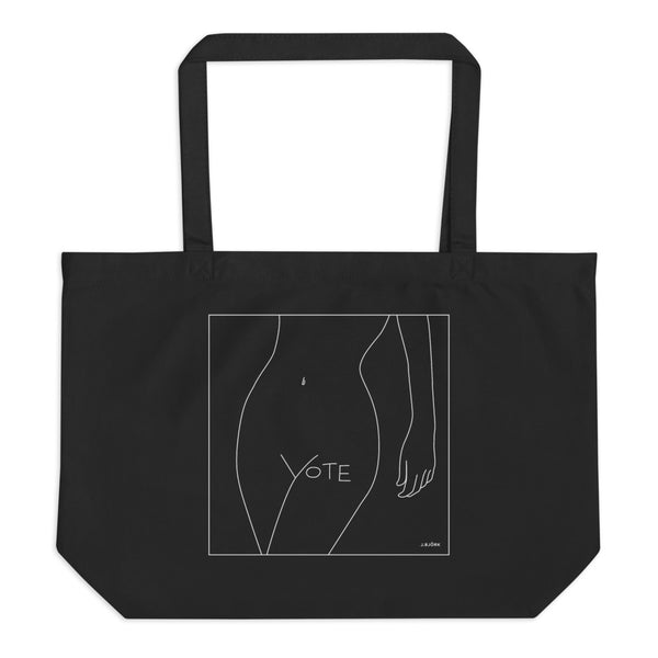 VOTE (No. 1) Large Eco Tote Bag (2 colors)