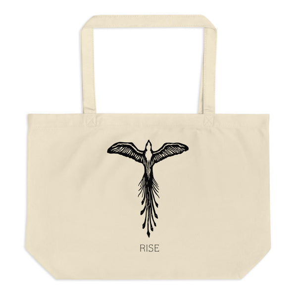 TALON x J.Björk: Phoenix Rising (No. 1) Large Eco Tote Bag