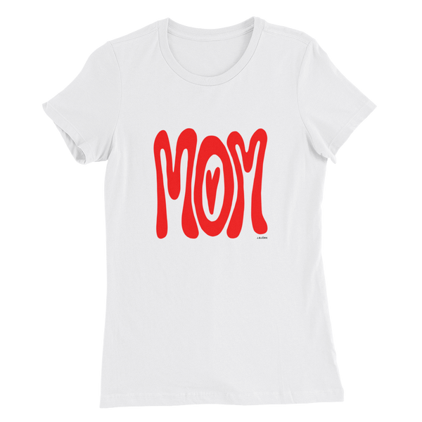 Mom T-shirt, Women's Slim Fit