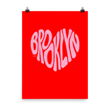 Brooklyn Love, Poster (Red/Pink)