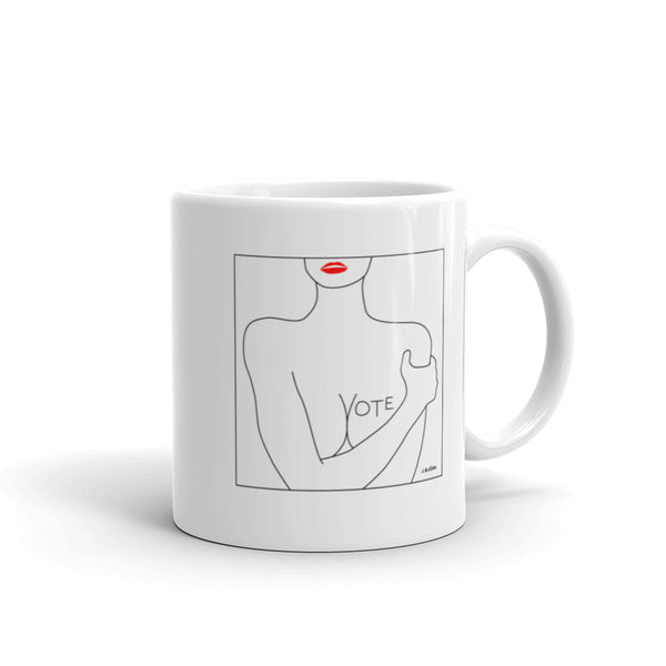 VOTE (No. 3) Coffee Mug