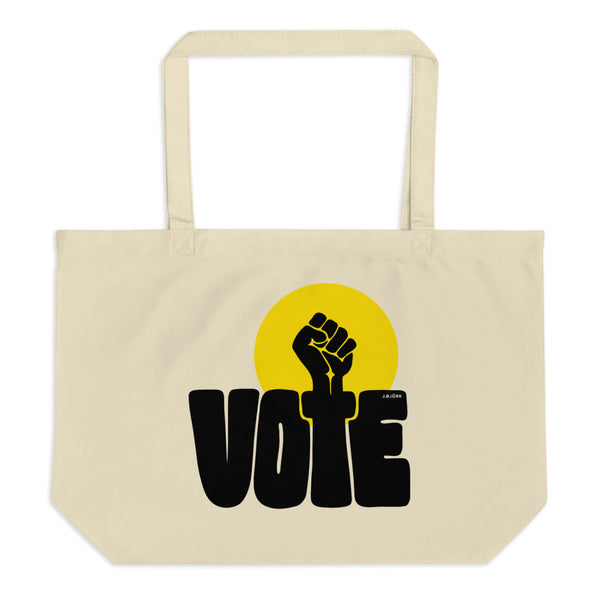 VOTE/POWER Large Eco Tote Bag