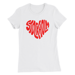 Stockholm Love T-shirt, Women's Slim Fit