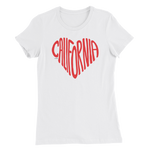 California Love T-shirt, Women's Slim Fit