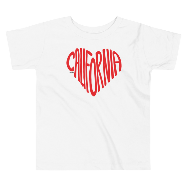 California Love T-shirt, Toddler
