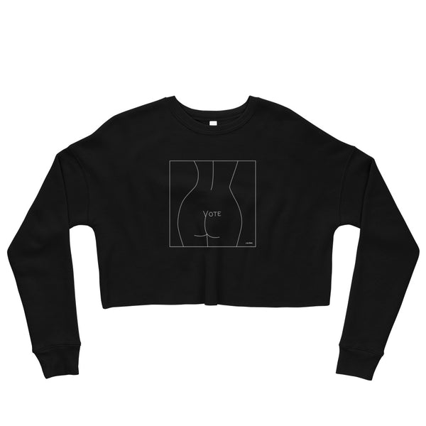 VOTE (No. 2) Cropped Sweatshirt (3 colors)