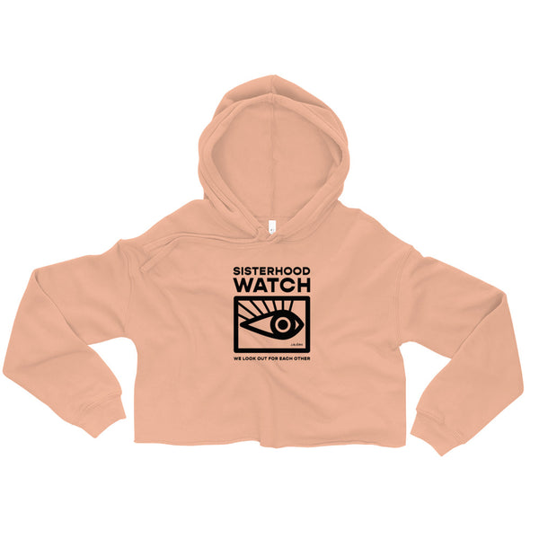 Sisterhood Watch Cropped Hoodie (3 colors)