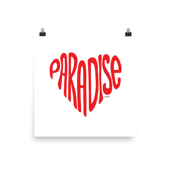 Paradise Love, Poster