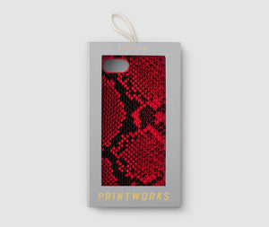 Iphone 7/8 Case - Red Snake