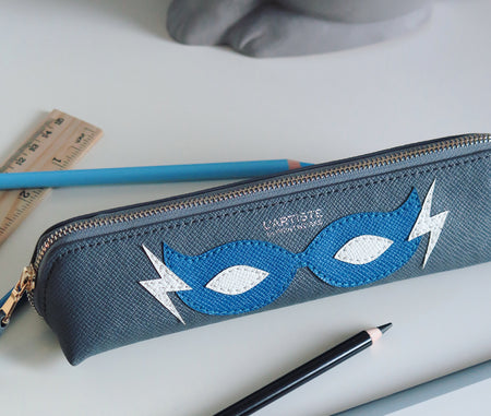 Pencil Case - Hero Blue Small