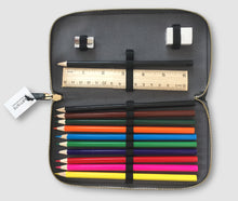 Load image into Gallery viewer, Pencil Case - Hero Blue Large incl pencils etc.