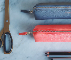 Pencil Case - Coral Small