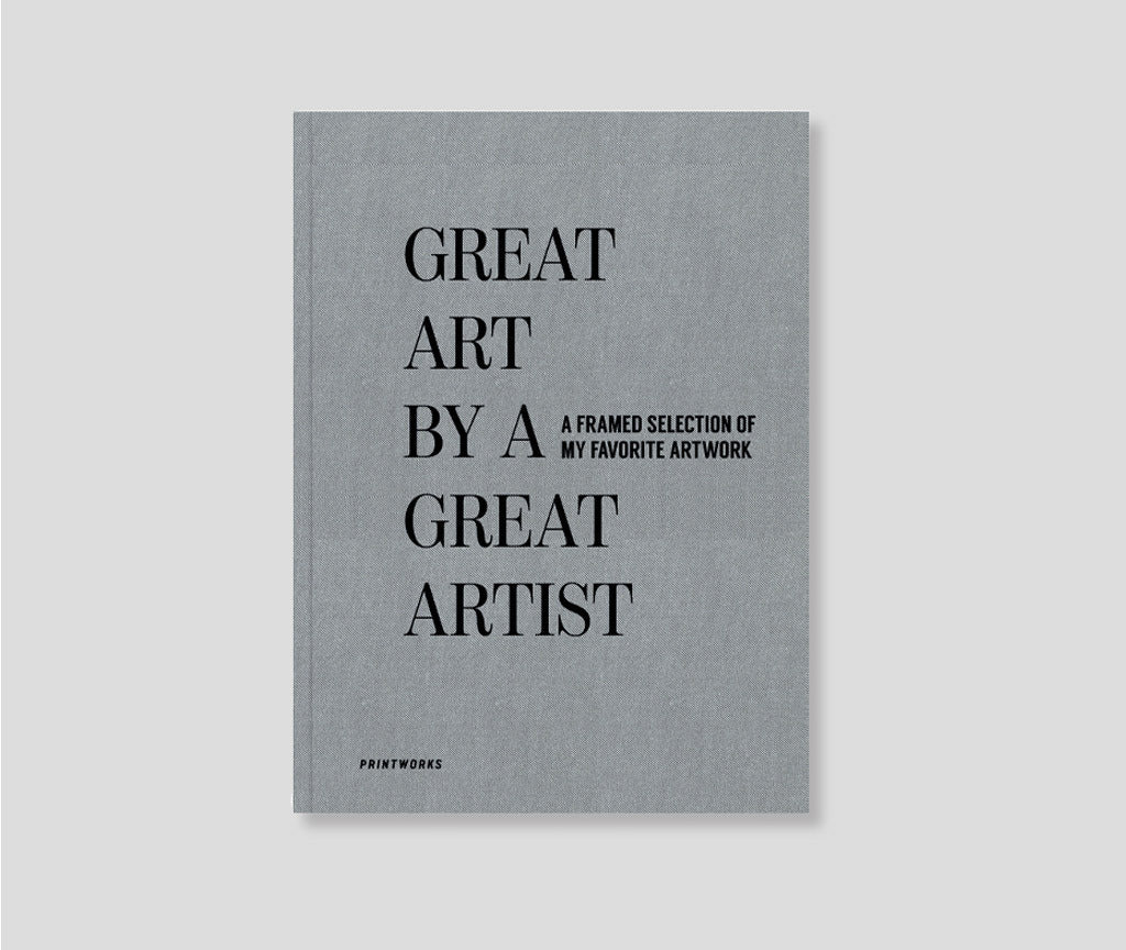 Frame Book - Great Art Grey