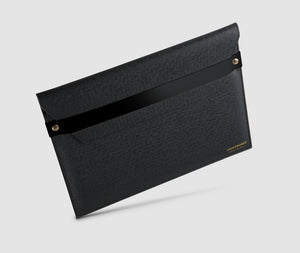 Laptop Case with strap - 13 inch Black/Black