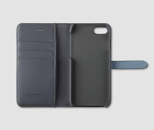 Iphone Wallet 7/8 (Grey/Lt Blue)