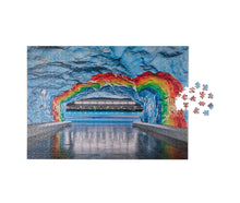 Load image into Gallery viewer, Puzzle - Subway Art Rainbow