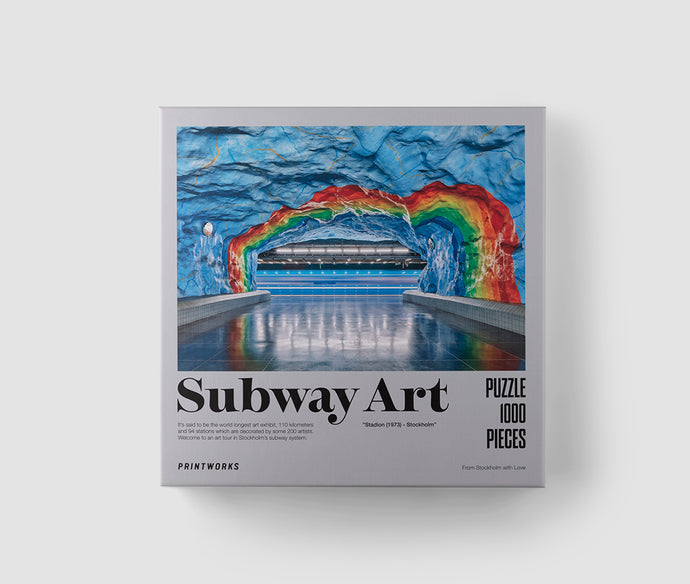 Puzzle - Subway Art Rainbow