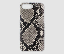 Load image into Gallery viewer, Iphone PLUS Case - Beige Snake