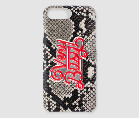 Iphone PLUS Case - Beige Snake