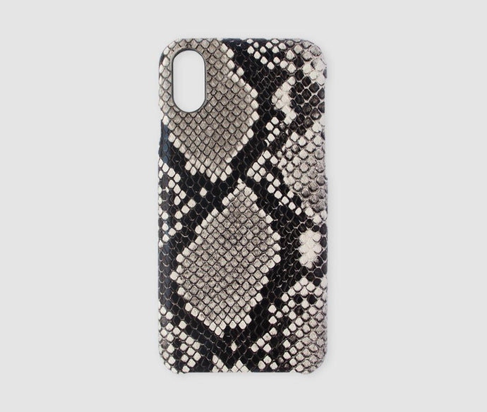 iPhone XR Case - Beige Snake