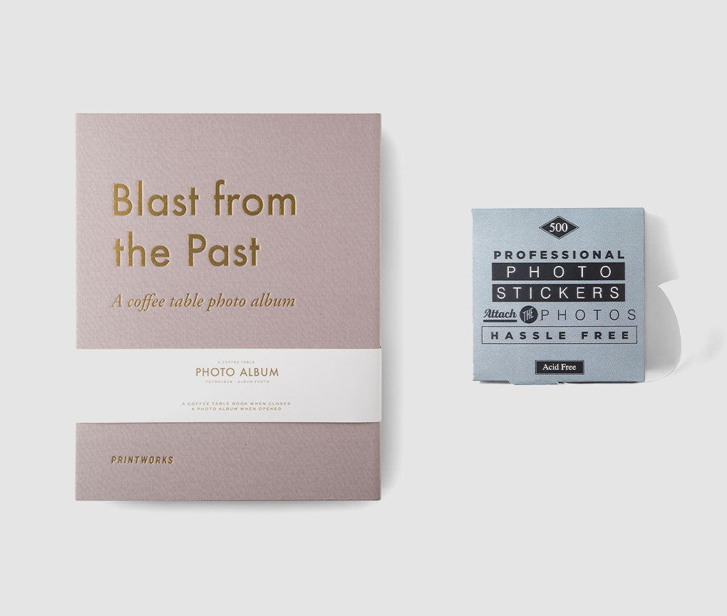 Blast From Past Album & Stickers Bundle