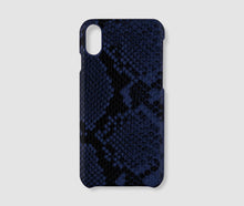 Load image into Gallery viewer, Iphone X Case - Blue Snake