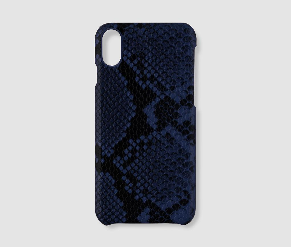 iPhone XS Max Case - Blue Snake