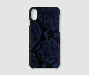 iPhone XR Case - Blue Snake