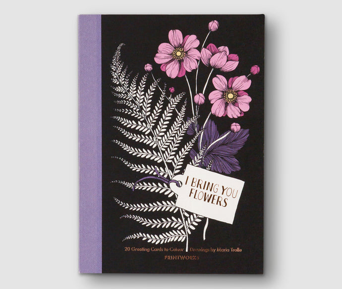 I Bring you Flowers - Book with 20 Greeting Cards