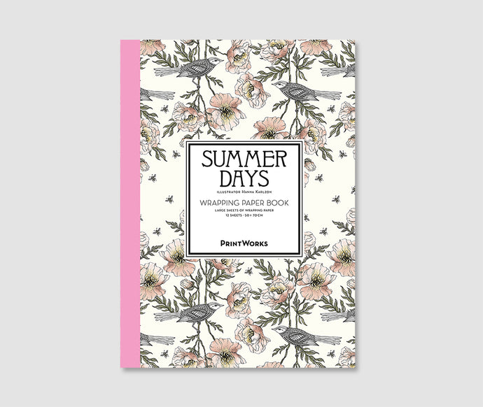 Summer Days - Gift Wrapping Paper Book