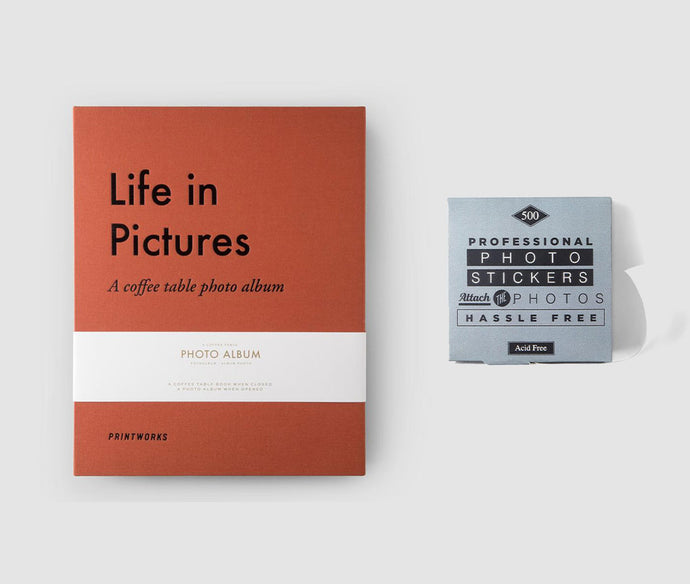 Life in Pictures Album & Stickers Bundle