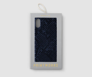 Iphone X Case - Blue Snake