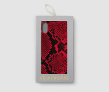 Load image into Gallery viewer, iPhone XS Max Case - Red Snake