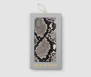 iPhone XS Max Case - Beige Snake