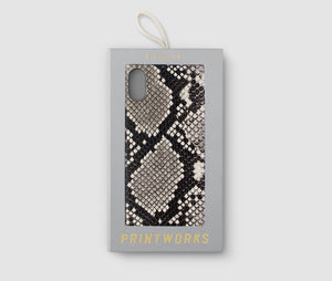 Iphone X Case - Beige Snake